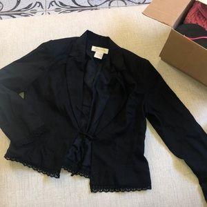 large black blazer